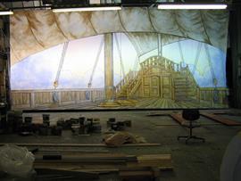 Ship Dock Scenes Prosceneium Prosceneium